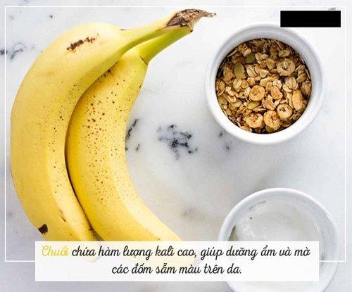 Chuối - Thực phẩm chống sạm da hiệu quả