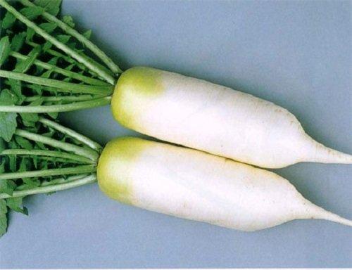 Da trắng mịn hồng hào với củ cải trắng