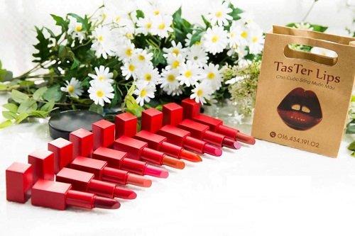 Taster Lip son môi chiết xuất thiên nhiên an toàn cho sức khỏe