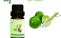 10 tác dụng kỳ diệu của tinh dầu sả chanh