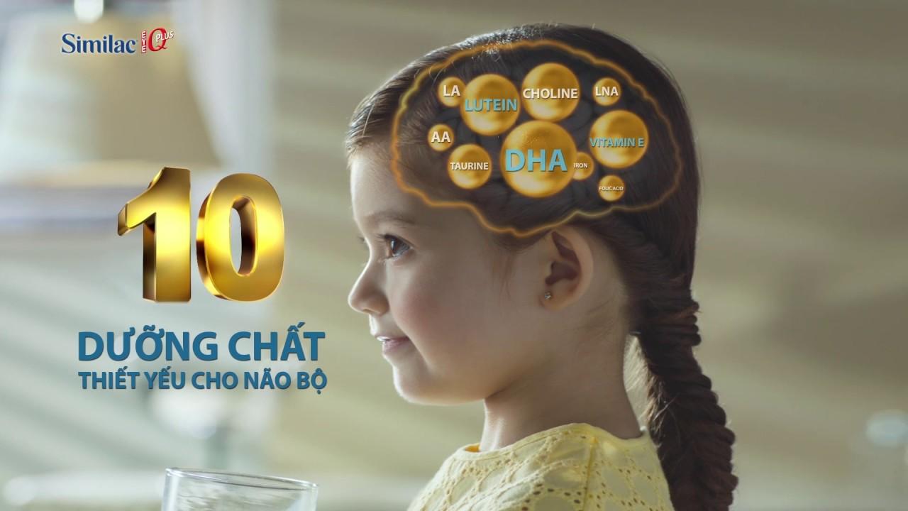 Dưỡng chất thiết yếu cho sự phát triển trí não cho bé