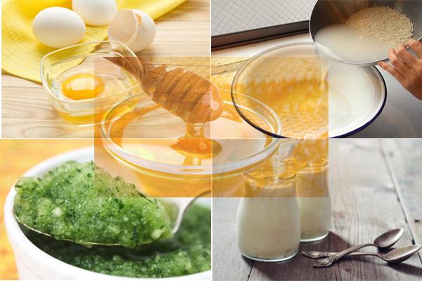 Hồi phục da với các nguyên liệu tự nhiên ngay trong căn bếp nhà bạn
