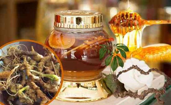 Ngâm trong mật ong giúp tăng hương vị và dưỡng chất