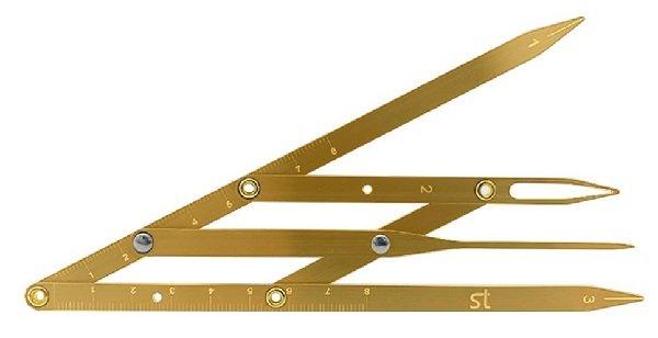 Dụng cụ thước đo tỉ lệ vàng