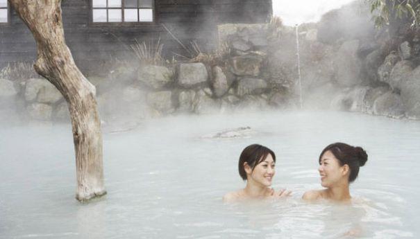 Dịch vụ tắm nước nóng là một nét văn hóa của xứ sở mặt trời mọc