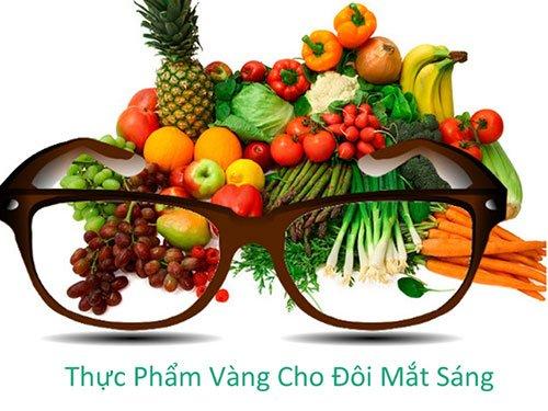 Ăn các thực phẩm hỗ trợ tốt cho mắt