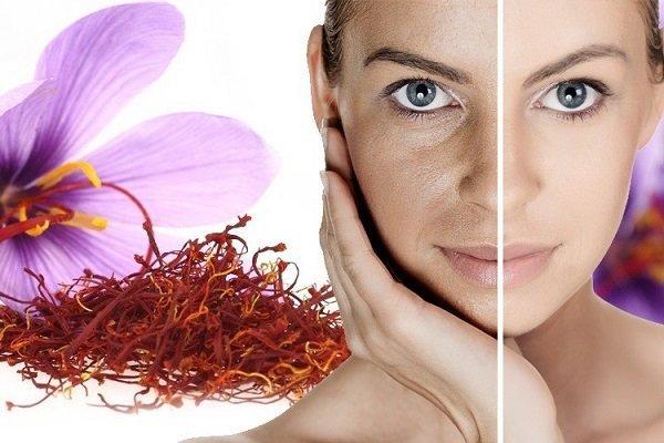 Cải thiện da nhờ saffron