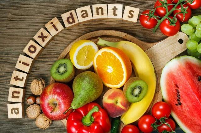 Chất chống oxi hóa chứa nhiều trong các loại trái cây