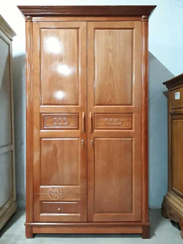 Tủ quần áo bằng gỗ luôn mang đến phong cách sang trọng cho người sử dụng